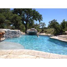 Levi's swimming hole!