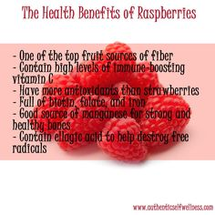 benefit of raspberry, My favorite, I love my berries Health Diet, Health And Nutrition, Health And Wellness, Fruit Benefits, Health Benefits, Get Healthy, Healthy Snacks, Vegetarian Kids, Tips