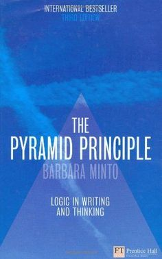 Positivity by barbara fredrickson our reading list pinterest the pyramid principle logic in writing and thinking fandeluxe Image collections