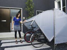 Eine Fahrradgarage muss keineswegs ein Schuppen sein. Die Hersteller legen mittlerweile Wert auf ansprechendes Design. Foto: dpa