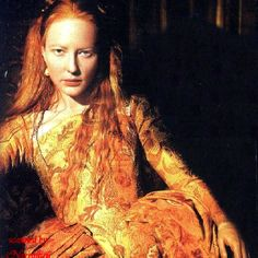 Cate Blanchett in the title role of Queen Elizabeth I.  What a stunning portrayal!