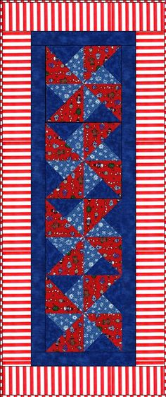 Holiday Twinkle Table Runner Quilt Kit Precut
