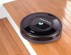 Irobot Roomba vacuum cleaning robot is the easiest way to clean your floors. With a remote or a push of a button