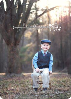 little boy vintage styled photo shoot