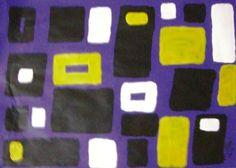 """""""Sem nome"""" acrílica sobre papel 0,32 x 0,28 2007 M. Sigrini Miranda"""