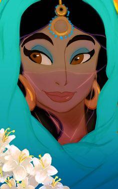 "Jasmine by Kevsoraone.deviantart.com on @DeviantArt - From ""Aladdin"""