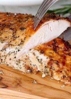 Air Fryer Oven Recipes, Air Frier Recipes, Air Fryer Dinner Recipes, Air Fryer Turkey Breast Recipe, Cooking Recipes, Healthy Recipes, Easy Recipes, Crowd Recipes, Healthy Food