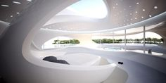 Tour Zaha Hadid's Dazzling Superyachts Photos   Architectural Digest