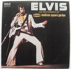 1972 ELVIS PRESLEY Live MADISON SQUARE GARDEN NYC