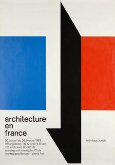 Architecture en France, Helmhaus Zürich by Graf / 1963