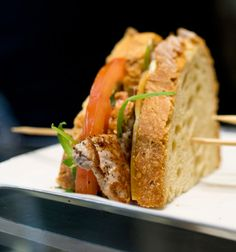 IMG_1636 Charles Perrault, Four, Pain, Athens, Sandwiches, Pork Roast, Mustard, Apple, Food