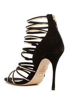 Schutz Myrna Caged Heel Sandal