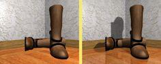 Blender: tutorial: The Spotlight - casting shadows
