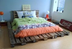 How to Make a Bed base using Old and Recycled Wood Pallets | Recycled Pallet…