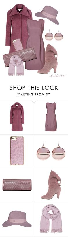 """winter mauve dress coat contest"" by leeann829 ❤ liked on Polyvore featuring Kaliko, Jil Sander, Agent 18, Gucci, Maison Michel, Hermès, women's clothing, women's fashion, women and female"