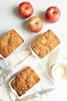 WMF Cutlery And Cookware - One Of The Most Trustworthy Cookware Producers Easy Apple Cinnamon Bread Recipe Julie Blanner Quick Apple Dessert, Apple Dessert Recipes, Apple Recipes, Easy Desserts, Fall Recipes, Bread Recipes, Sweet Recipes, Brunch Recipes, Yummy Recipes