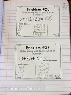 problem of the day 2nd grade CCSS