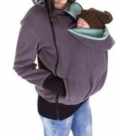 WealFeel Baby Carrier Jacket Kangaroo Outerwear