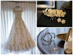 Vestido de noiva - Grinalda - Terço by Junior Santaella