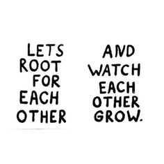 How about lets do this , instead of tearing one another down. Let's root for each other. Be happy for our individual growth in life. Stop being bitter