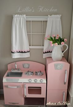 A Little Bit of Spring in Lillie's Room  by Dear Lillie