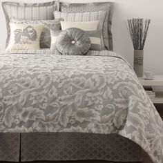 Waterford makes the cutest bedding! Cute Bedding, Bedding Sets, Guest Bedrooms, Master Bedroom, Parental, Comfy Blankets, Beds Online, Queen Duvet, Bedding Collections