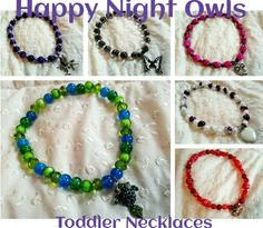 TODDLER NECKLACES fits from age 2 to 6