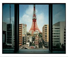Japan Time, Tokyo City, Tokyo Tower, Rare Images, Looking Out The Window, World Cities, Love Photography, Taking Pictures, Japan Travel