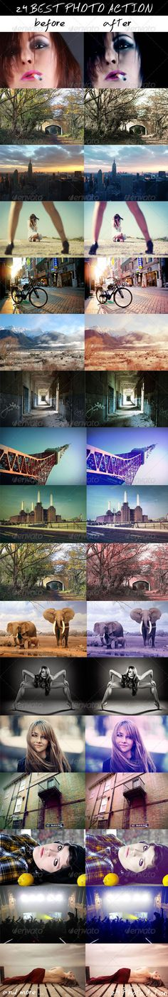 24 Coloring Photoshop Action Pinhole Camera, Spy Camera, Photoshop Actions, Coloring, Spy Cam