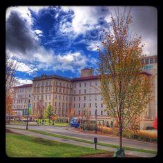 Always a great visit to Emory University Hospital. #atlanta #fall
