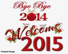 Bye Bye 2014 & Happy New Year 2015