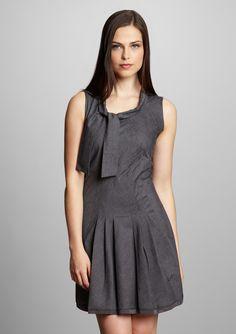 Insight Mixed-Media Dress