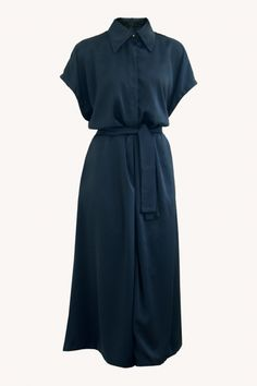The Midnight Blue Jumpsuit Blue Jumpsuits, Midnight Blue, Aurora, Dresses For Work, Studio, Fashion, Moda, Fashion Styles, Fasion