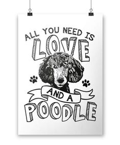 All You Need Is Love and a Poodle - Poster