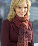 Simple Textured #scarf free #crochet pattern