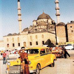 1993 Glamour dergisi Istanbul cekimi \ Mario Testino