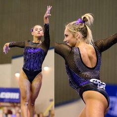 This summer we're trying a little something new when it comes to our throwback leotard rankings. Rather than looking at single meets, we've decided Gymnastics Meet Hair, Lsu Gymnastics, Gymnastics Posters, Gymnastics Workout, Gymnastics Leotards, Lsu College, Riding Boot Outfits, Gymnastics Flexibility, Competition Hair