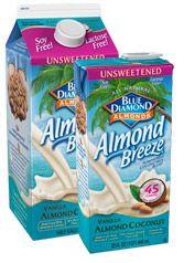 Almond Breeze Unsweetened Vanilla: Almondmilk Coconutmilk Blend. I drink it every day! Found at: Walmart, Target, Winn Dixie, Publix