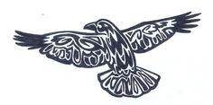 Tribal Raven