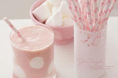 polka dot party, pink and white polka dot party