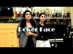 acid poker face glee video