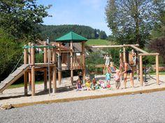 """Mehrgenerationenspielplatz Gutach """"In der Grub"""" Park, Swings, Trench, Communities Unit, Black Forest, Playground, Parks"""