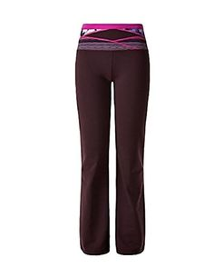 LULULEMON - GROOVE PANT III - QUILT - BORDEAUX - SIZE 2 TALL