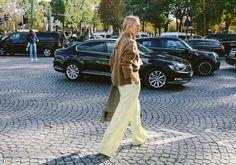 Roberta Benteler in Céline trousers
