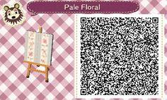 Pale floral pattern acnl achhd