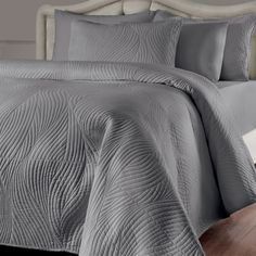 Brielle Stream 3-piece Quilt Set with Extra Sham Separates Sold Separately