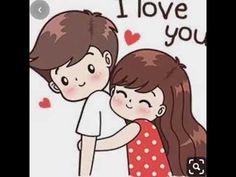 Cute Couple Drawings, Cute Couple Art, Love Drawings, Cute Couples, Love Cartoon Couple, Cute Cartoon Pictures, Anime Love Couple, Cute Love Stories, Cute Love Gif