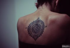 Mandala Tattoo - Caracas 2012  #ink #permanentink #tattoo #bodymodification #mandala