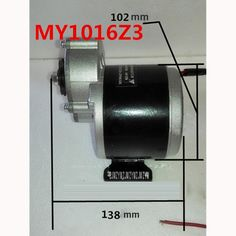 38.86$  Buy here - http://ali3hf.shopchina.info/go.php?t=32809417449 - 350w 24v and 36v gear motor, motor electric tricycle brush DC motor gear brushed motor Electric bike, My1016z3 speed 3000rpm  #aliexpressideas
