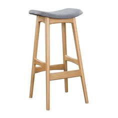 KARIN BARSTOOL WHITE OAK/LIGHT GREY - Bar & Counter Stools - Dining Chairs - Dining - HD Buttercup Online – No Ordinary Furniture Store – Los Angeles & San Francisco